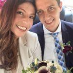 Maria Isabel y Matt Conroy