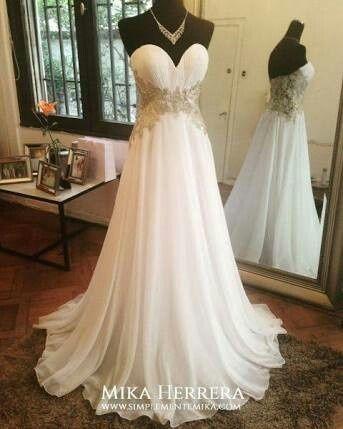 vestidos de novia corte imperio - foro moda nupcial - bodas.mx