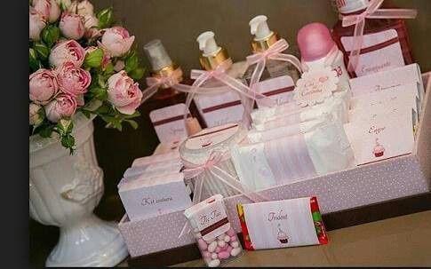 Canastas para ba o foro manualidades para bodas bodas - Kit bano boda ...