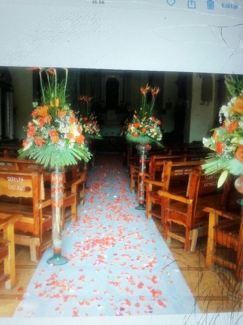 Eleccion de decoracion de iglesia... - 2