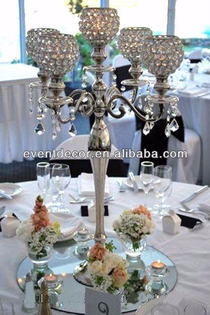 Boda de cristal foro manualidades para bodas bodas for Mesas de cristal para bodas