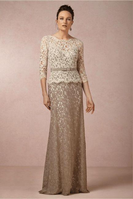 Vestidos para mamá y suegra - Foro Moda Nupcial - bodas.com.mx