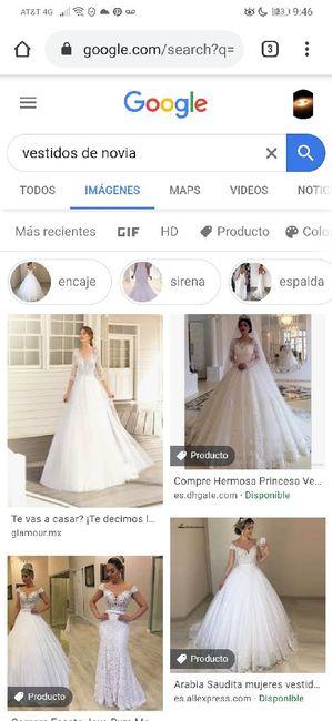 """[JUEGO] Si Googleas """"Vestido de novia""""... 9"""