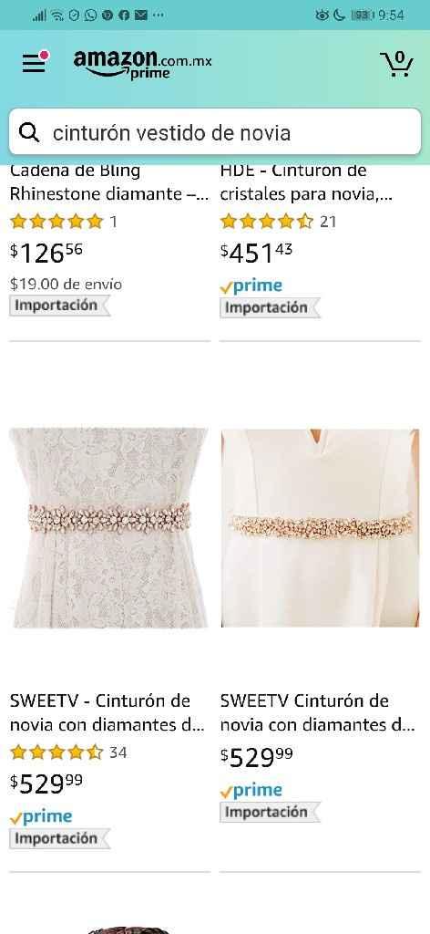 Cinto para vestido de novia - 1