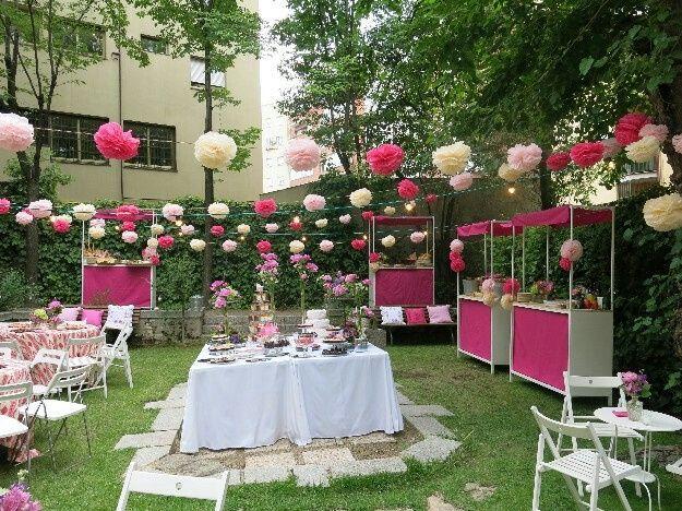 Arreglo de jard n foro organizar una boda for Arreglos para boda en jardin
