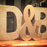 Letras de decoración - 1