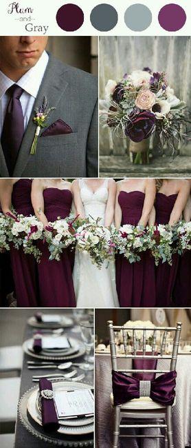 combinaciones de colores en ciruela y acero/gris - Foro Organizar ...