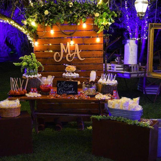 Mi propia mesa de dulces. 🍭🍬 2