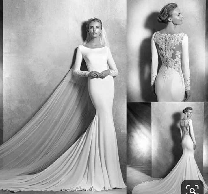 Vestido de novia sos - 1