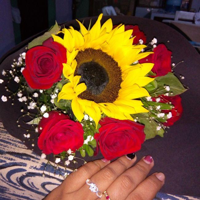 Mi anillo de compromiso Marcelina 1