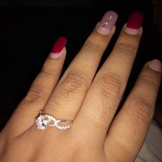 Mi anillo de compromiso Marcelina 2