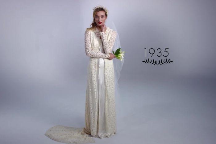 evolucion de los vestidos de novia !!! - foro moda nupcial - bodas