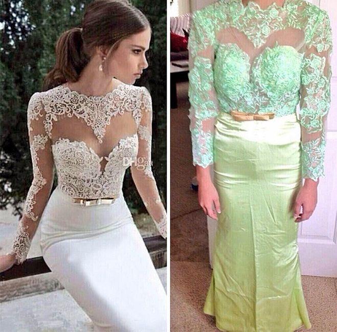 Vestidos para despues del vestido de novia