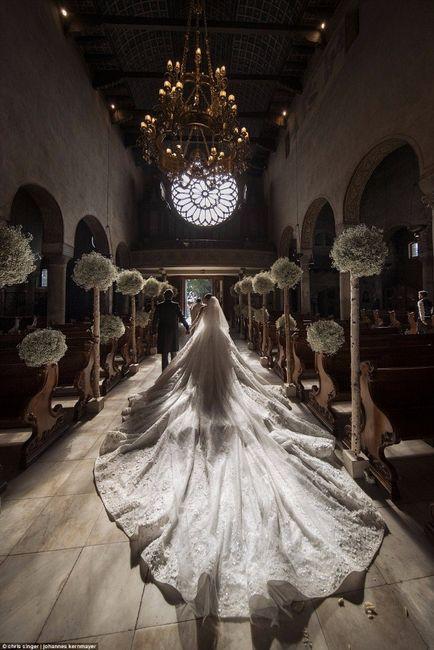 éste es el vestido de novia más espectacular que verás, con más de
