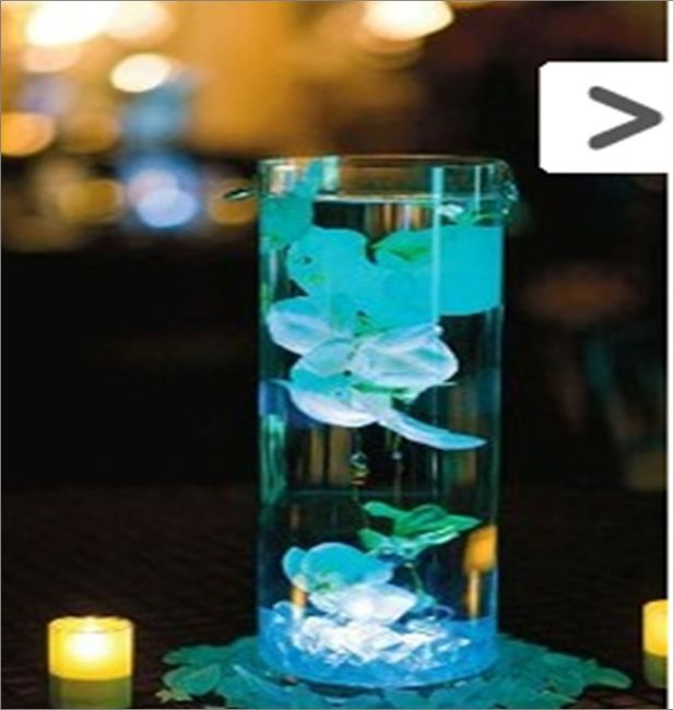 Centro de mesa de boda con cristales alto car interior - Cristales para mesa ...
