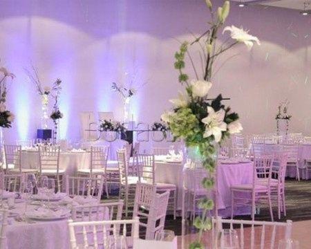 Decoraci n y ambientaci n para boda de noche en sal n for Ambientacion para bodas