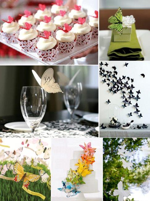 Decoraci n mariposas foro organizar una boda - Foro decoracion ...