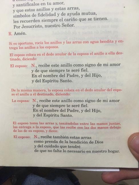 Matrimonio Catolico Misa : Ritual matrimonio catolico🤵🏻❤ 👰🏻 foro ceremonia nupcial