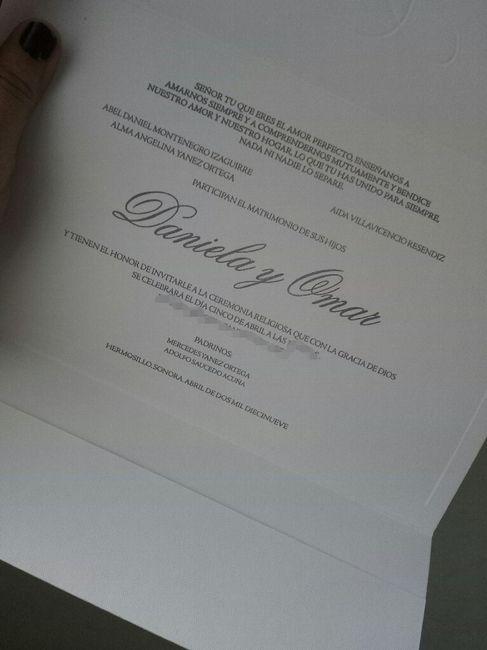 Invitaciones ✔ 2