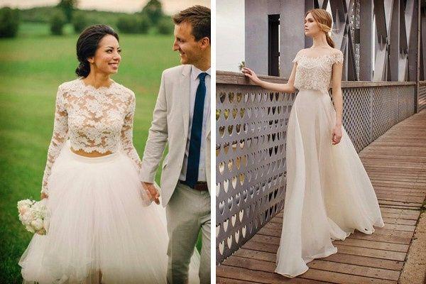 f60354d17 Vestidos de novia tipo crop top - Foro Moda Nupcial - bodas.com.mx
