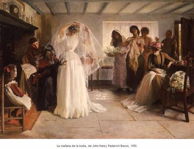 Historia de la mujer vestida de novia