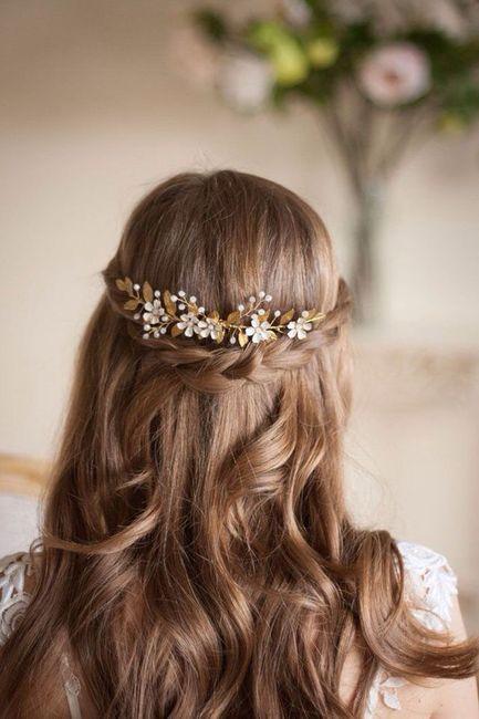 Hermosos Peinados Semi Recogidos 👰🏻 Foro Moda
