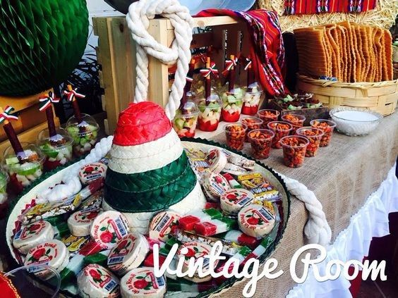 Matrimonio Tema Hawaii : Mesa de dulces para boda temática mexicana foro