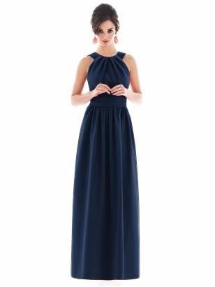 Vestido azul navy