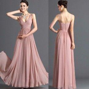 Ideas Vestidos De Dama En Color Rosa Claro Foro Moda