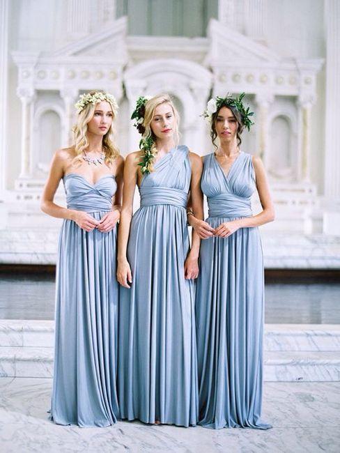 Ideas: vestidos para damas en color azul claro - Foro Moda Nupcial ...