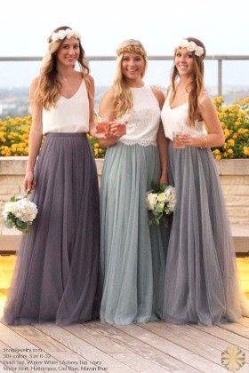 85a49b02d Ideas  vestidos de dama en color gris - Foro Moda Nupcial - bodas.com.mx
