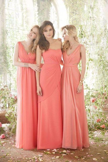 Imagenes de vestidos de noche rosa coral