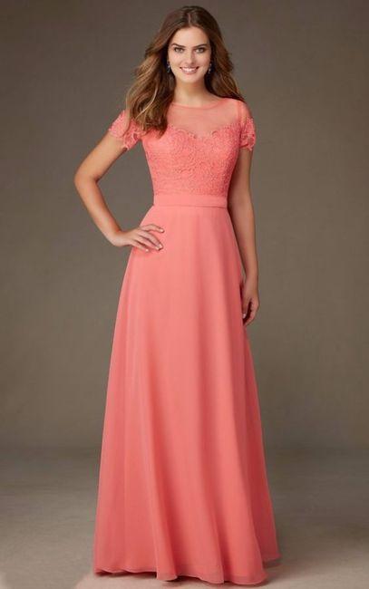 Vestidos de novia para bodas de coral