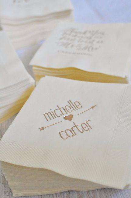 Servilletas personalizadas para la boda foro banquetes - Servilletas personalizadas ...