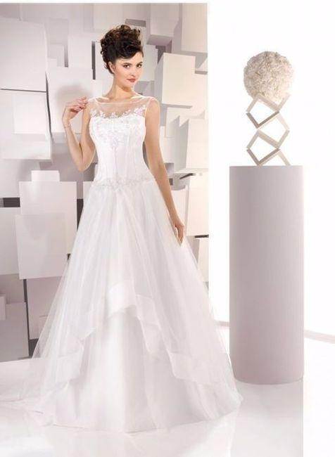 vestidos de novia con escote ilusión - foro moda nupcial - bodas.mx