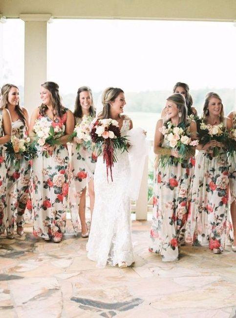 5212ab60e Vestidos florales para las damas - Foro Moda Nupcial - bodas.com.mx