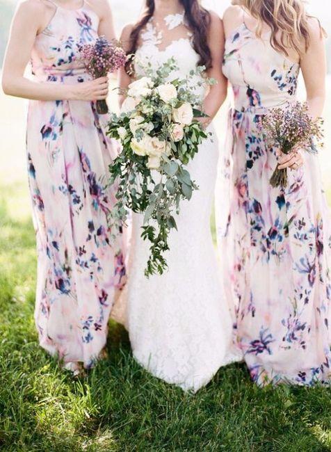 373b98af7b742 Vestidos florales para las damas - Foro Moda Nupcial - bodas.com.mx