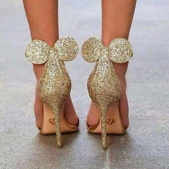 mejor baratas última colección buen servicio Tacones de Minnie Mouse: la última tendencia en zapatos de ...