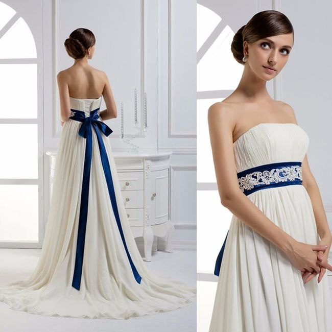 """el vestido de novia """"la cintura"""" - foro moda nupcial - bodas.mx"""