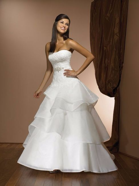 los tonos de color mas usados en vestidos de novia - foro moda