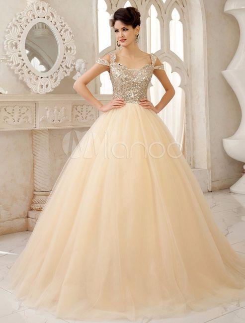 Vestido de novia blanco hueso