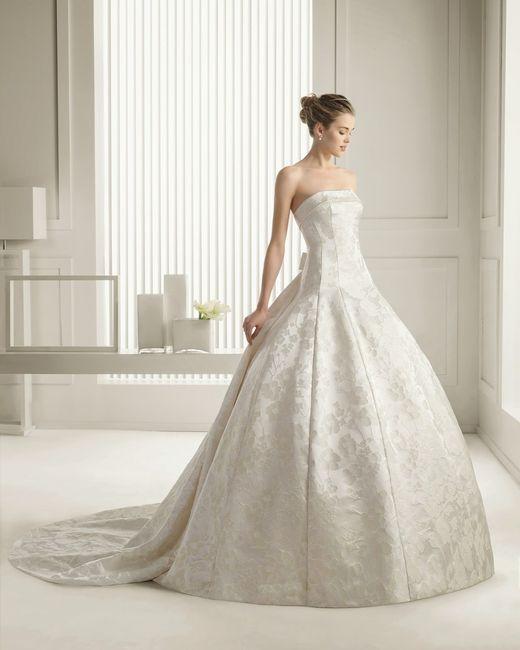 Telas usadas en vestidos de novia