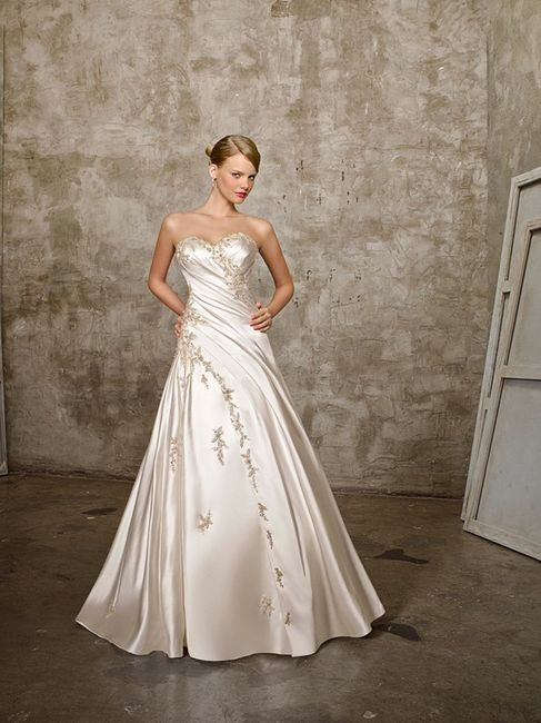 las telas mas usadas en la confeccion de vestidos de novia - foro