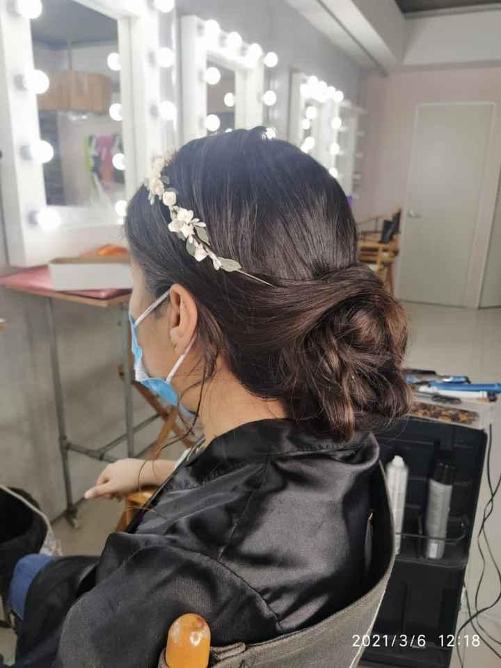 2Da prueba de peinado & entrega de vestido - 2