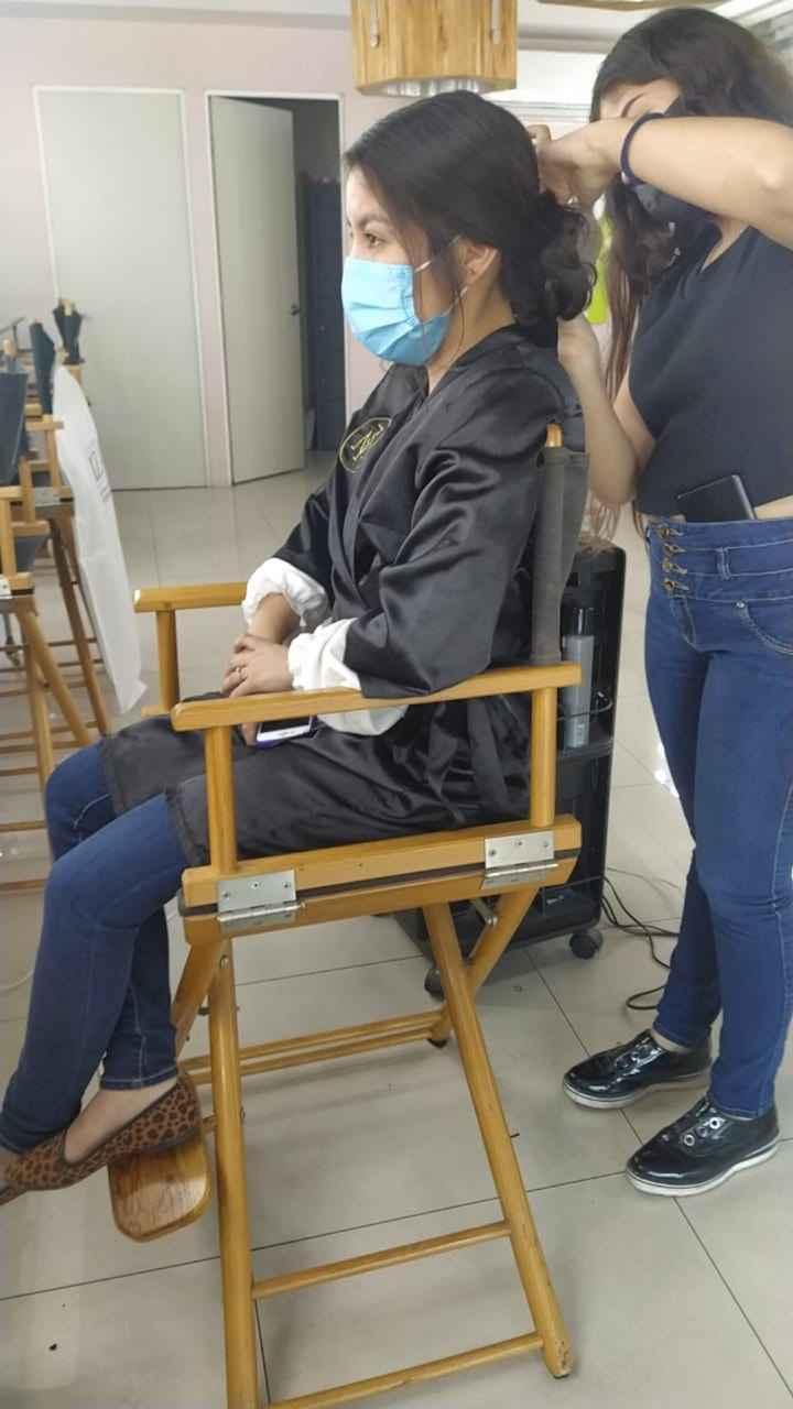 2Da prueba de peinado & entrega de vestido - 4