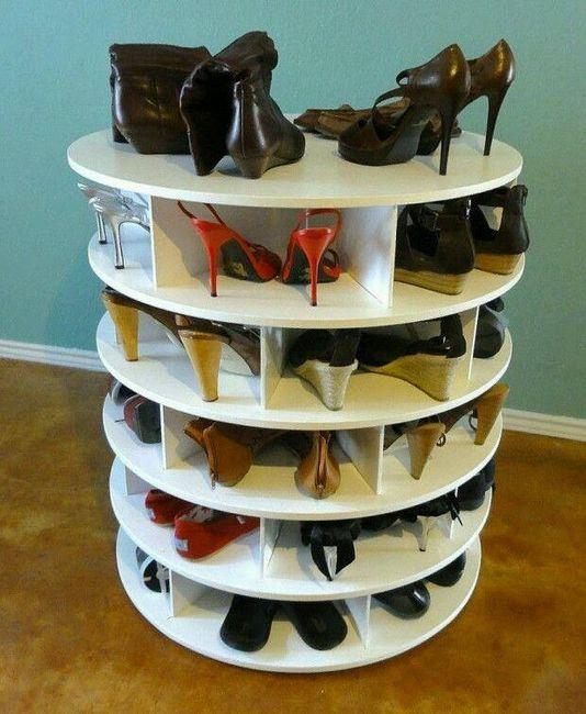 Zapatos y posibles maneras de ordenarlos  - 1