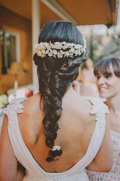 Peinados de novia con trenza foro moda nupcial bodas for Trenza boda