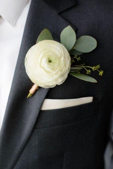 Elegante pin para sustituir el boutonniere 5