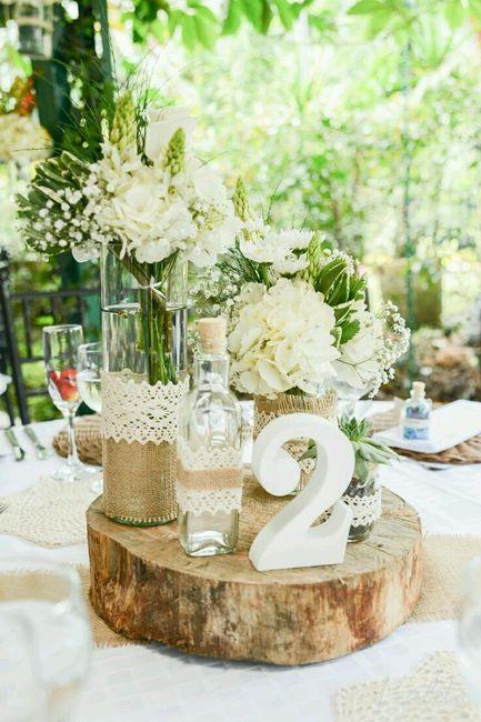 Centros mesa arreglos florales para todo tipo images for Decoracion bodas