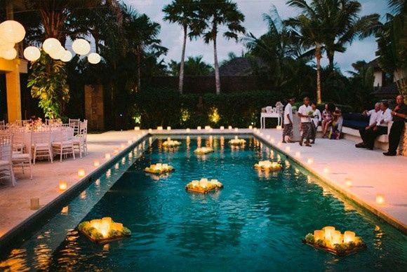 Decoraci n para alberca foro manualidades para bodas for Decoracion para albercas